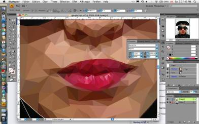 Low Poly Lips