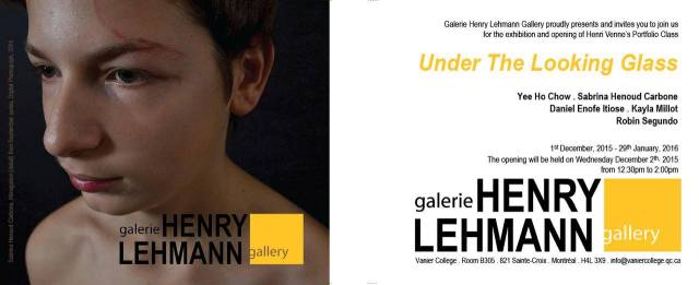 Vernissage- Under the Looking Glass